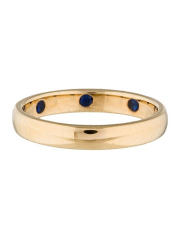 Carpe Diem Poesy Ring with Sapphires
