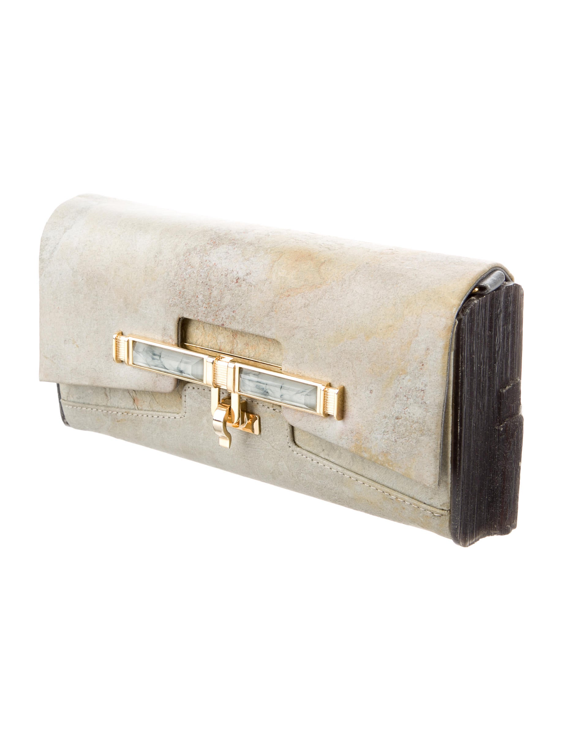3 Home Decor Trends For Spring Brittany Stager: Kara Ross Lux Marble Clutch - Handbags - KRS20490