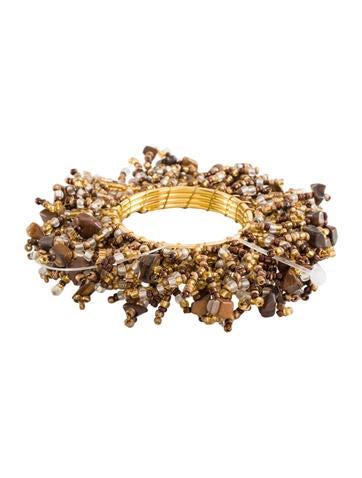 Set of 12 Beaded Napkin Rings w/ Tags