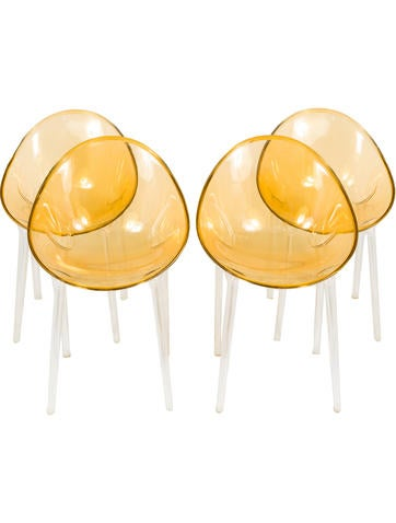 Kartell 4-Piece Mr. Impossible Chairs