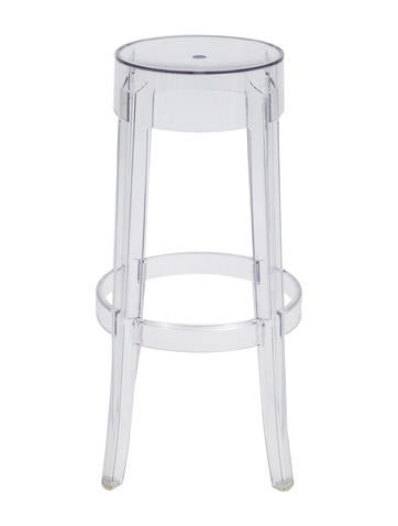 Kartell charles ghost bar stools furniture ktl20102 the realreal - Ghost bar stools counter height ...