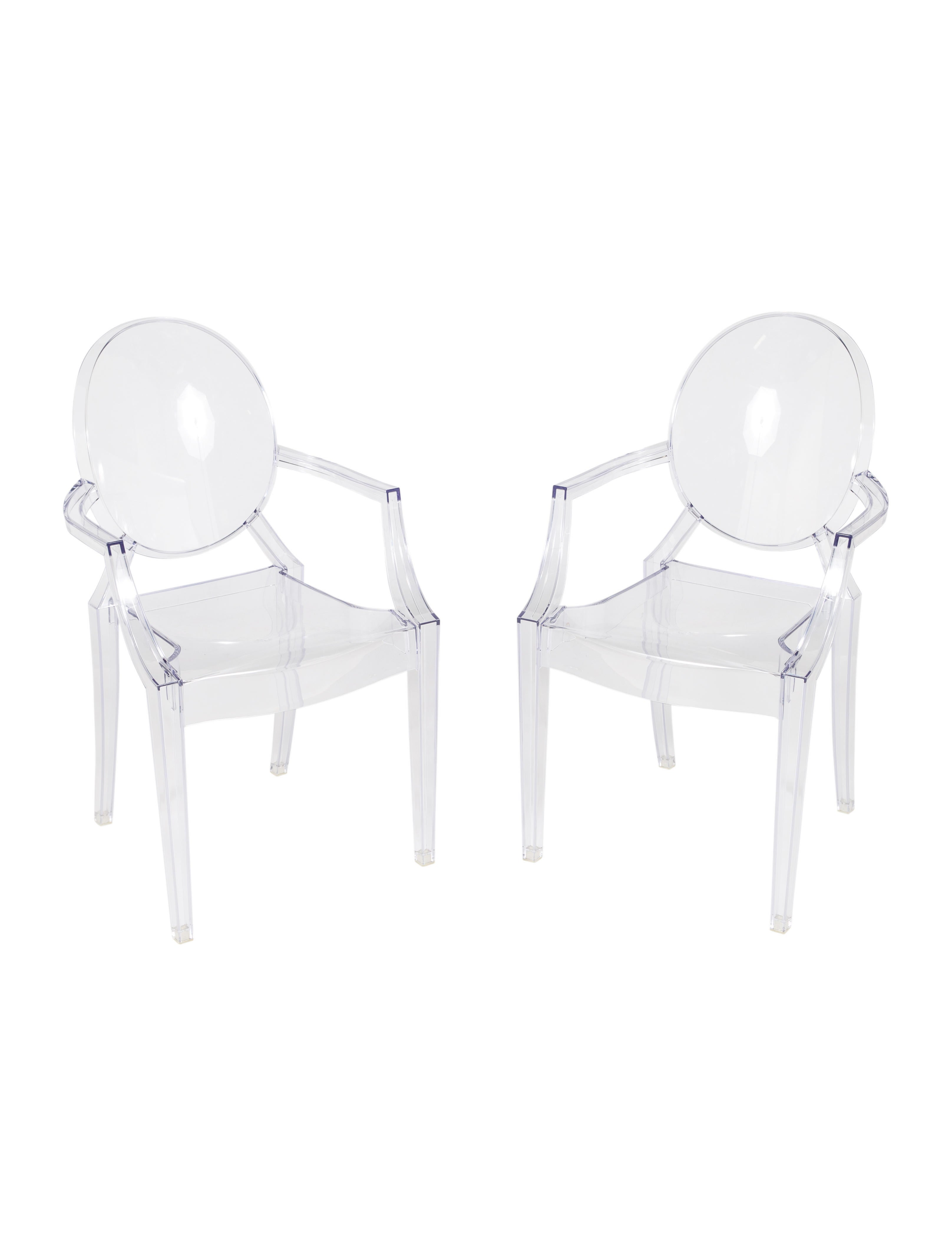 home pair realreal chairs seating starck furniture chair products of louis the enlarged kartell ghost