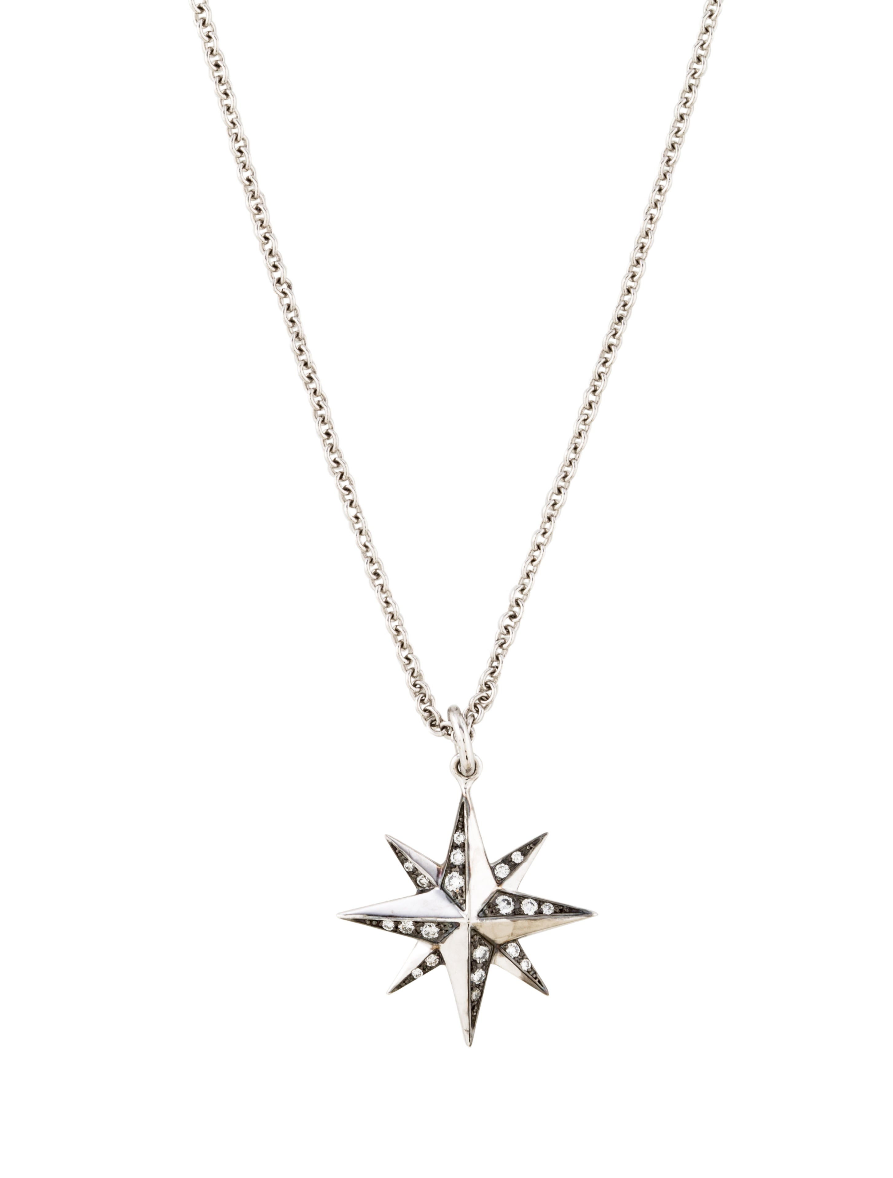 Kwiat Diamond Star Pendant Necklace Necklaces KWI