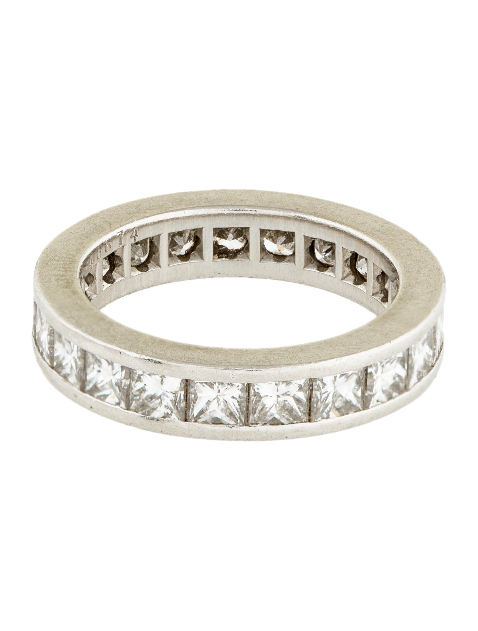 kwiat platinum eternity wedding ring rings