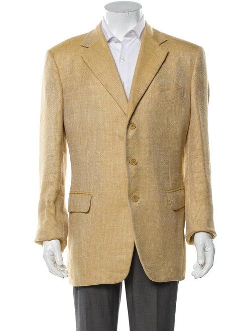 Krizia Silk Blazer Yellow