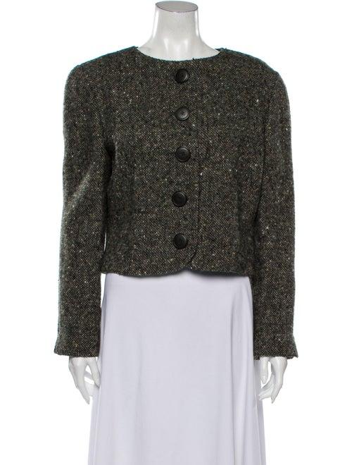 Krizia Vintage Wool Evening Jacket Wool