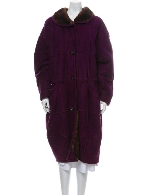 Krizia Coat Purple - image 1