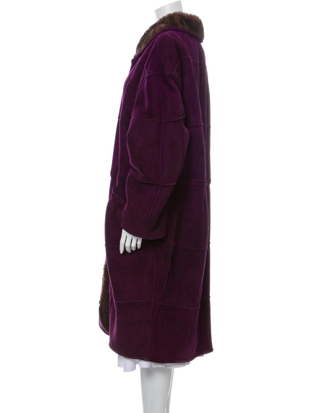 Krizia Coat Purple - image 2