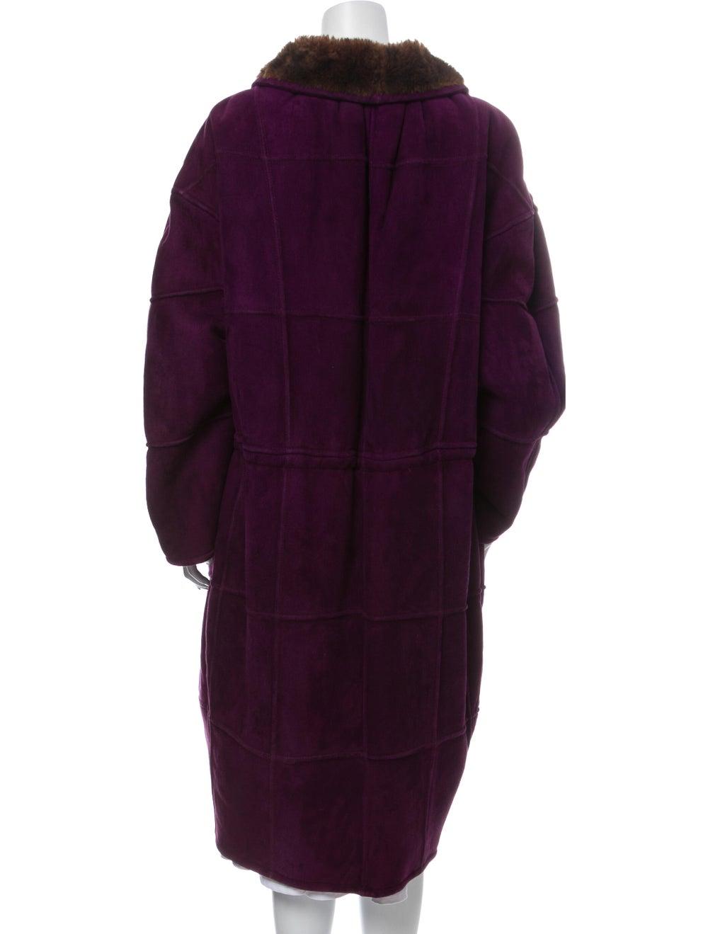 Krizia Coat Purple - image 3