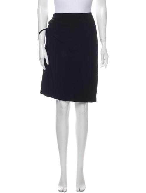 Krizia Knee-Length Skirt Black - image 1