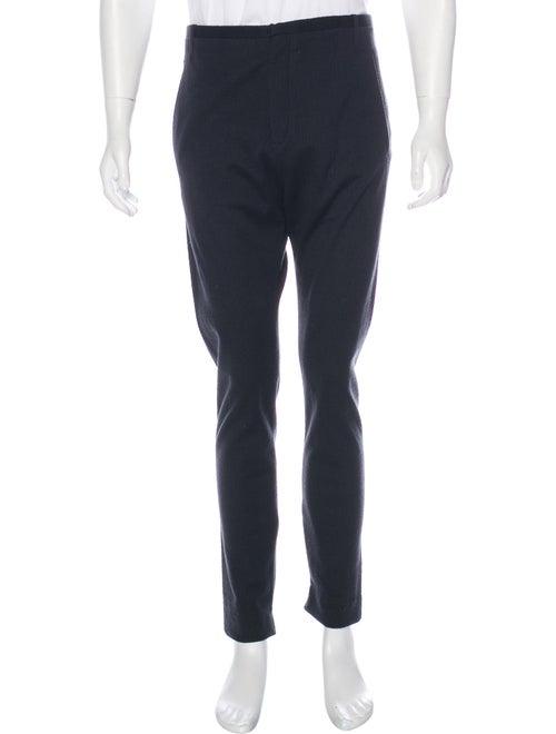Label Under Construction Textured Knit Pants black