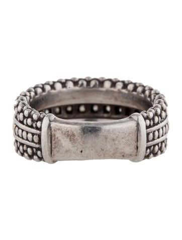 Caviar Diamond Ring
