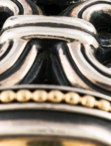 Caviar Two-Tone Pendant