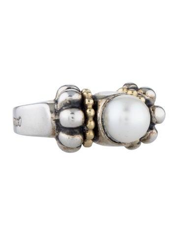 Caviar Pearl Ring