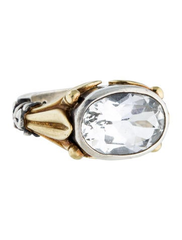 lagos white topaz caviar ring rings lag21298 the