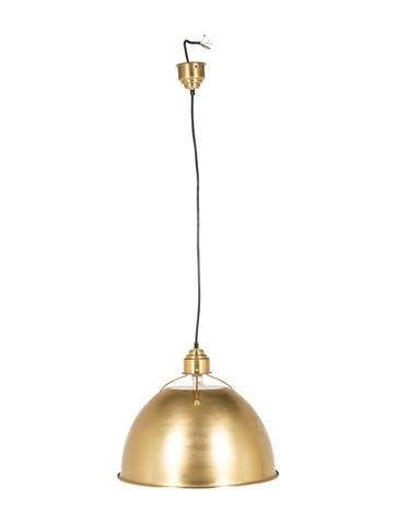Contemporary Brass Pendant