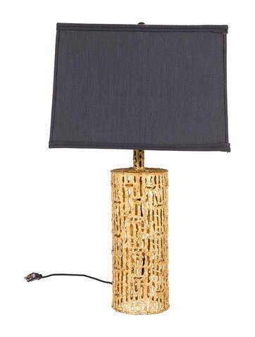 Gilt Gold Table Lamp