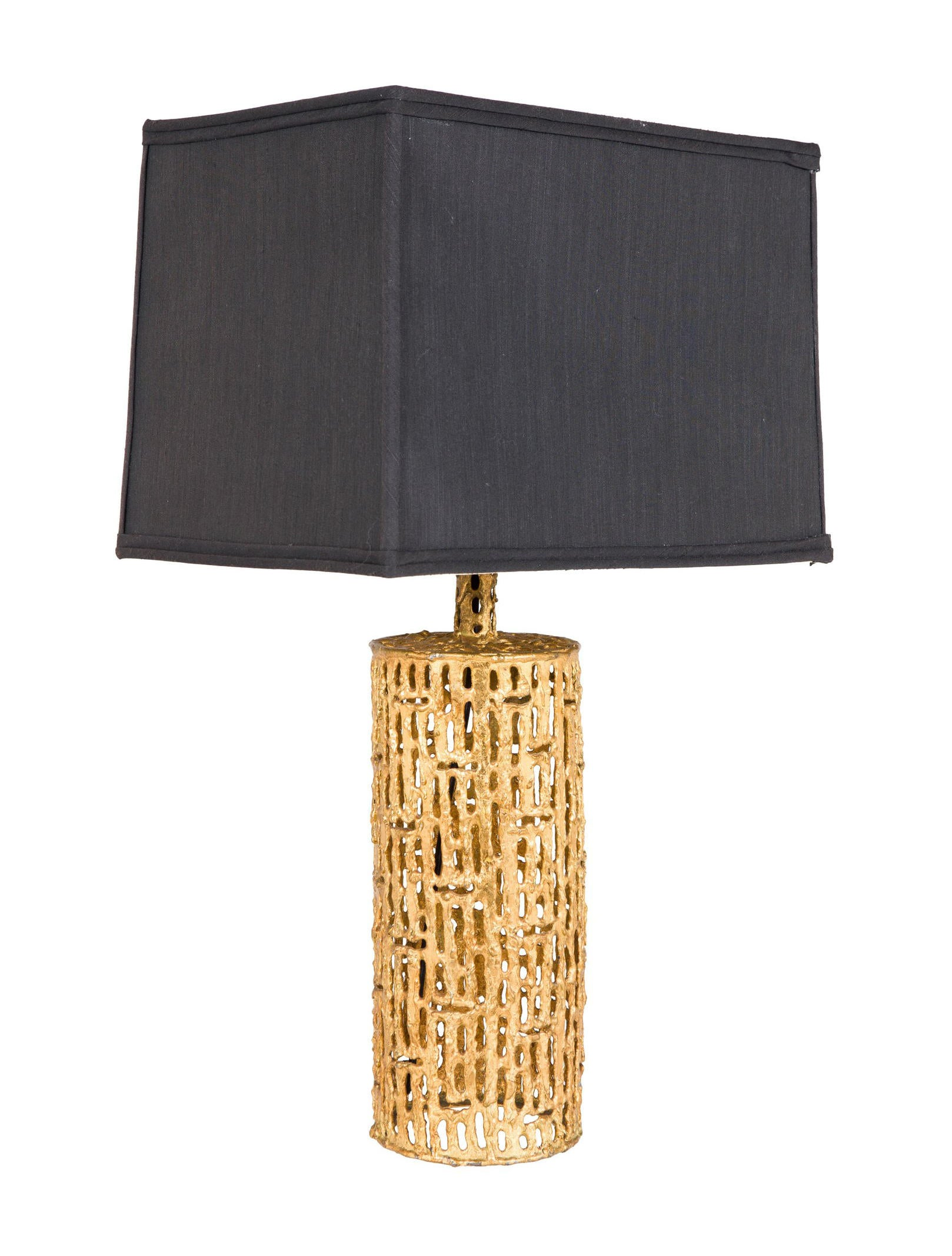 Gilt gold table lamp lighting lamps20188 the realreal gilt gold table geotapseo Gallery