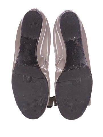Patent Ballet Flats