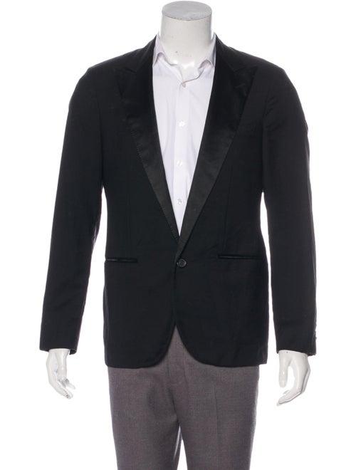 Lanvin Lanvin Wool Tuxedo Blazer black