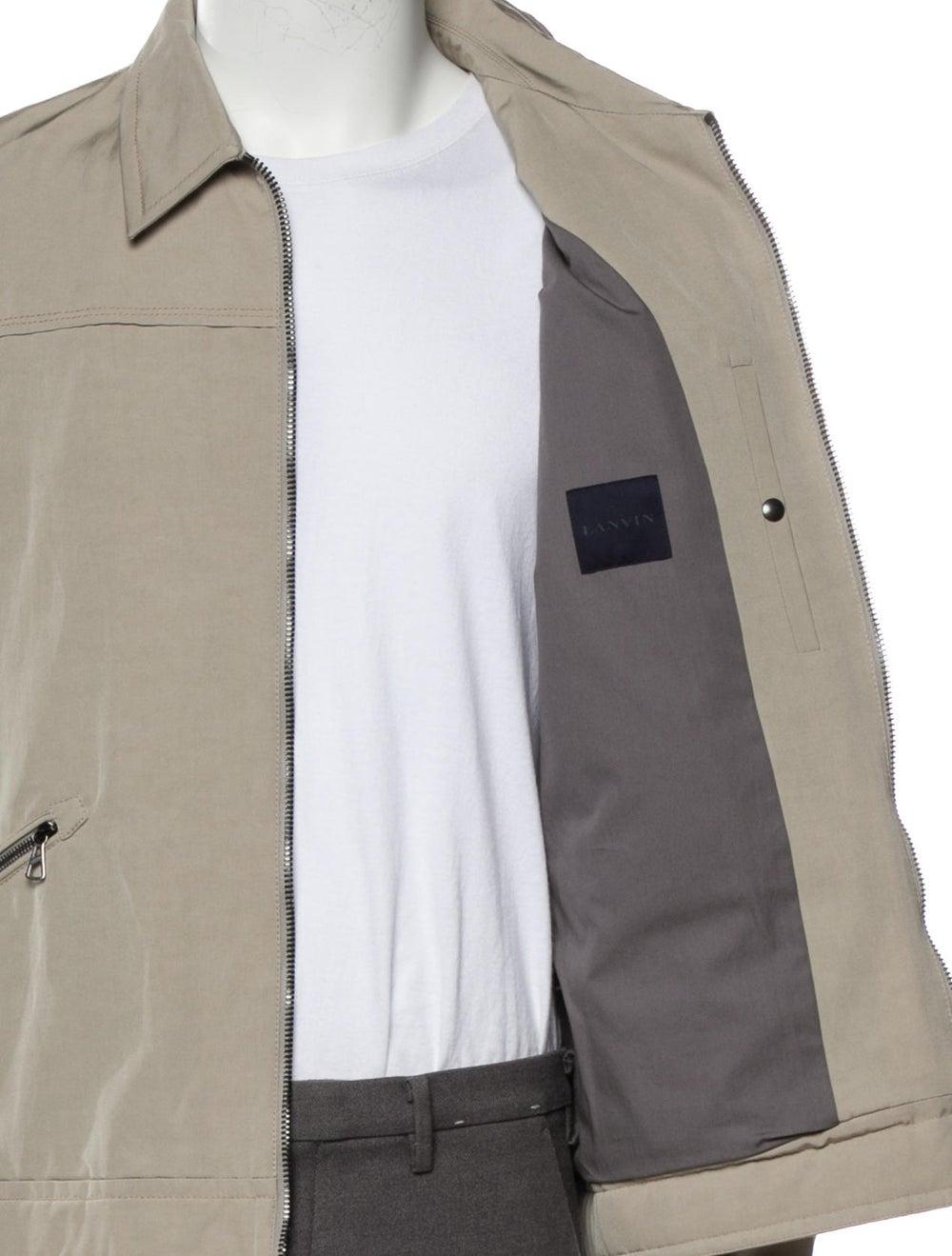 Lanvin Ricky Blouson Jacket w/ Tags beige - image 4