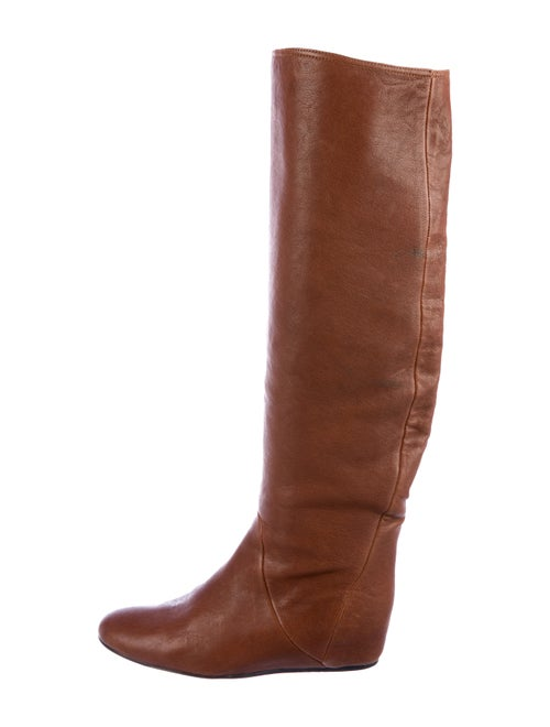 Lanvin Wedge Knee-High Boots
