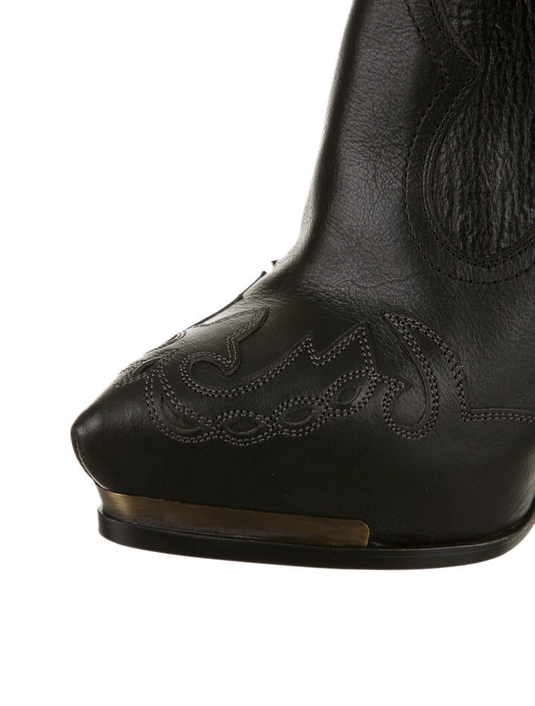 lanvin cowboy platform boots shoes lan11741 the realreal