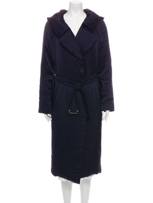Lanvin 2006 Trench Coat Purple