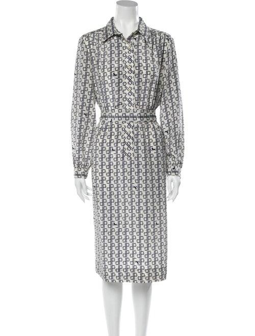 Lanvin Vintage Midi Length Dress