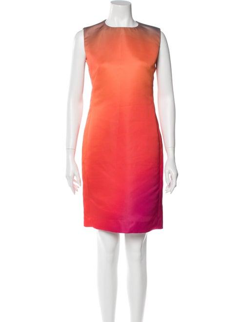 Lanvin Tie-Dye Print Mini Dress