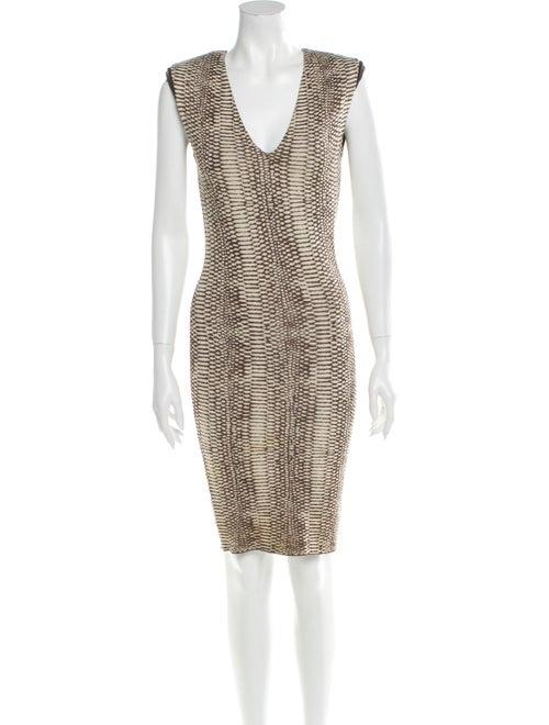Lanvin Silk Mini Dress