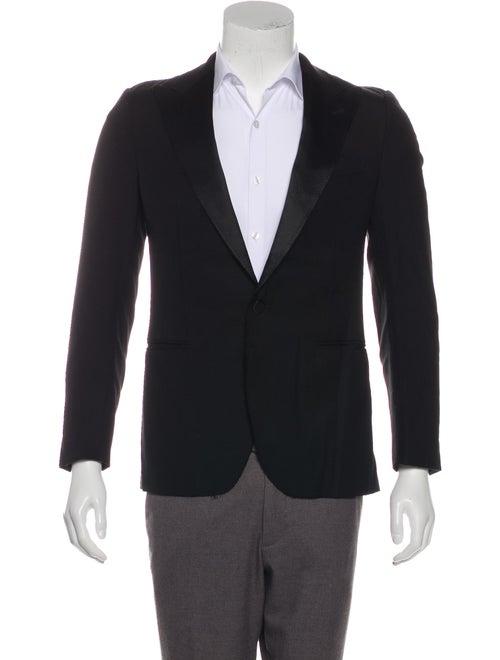 Lanvin Wool Tuxedo Jacket black