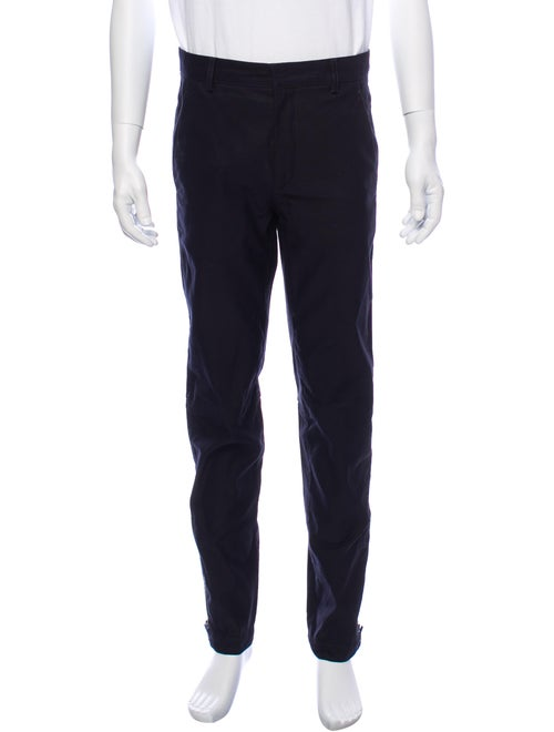 Lanvin Woven Pants blue