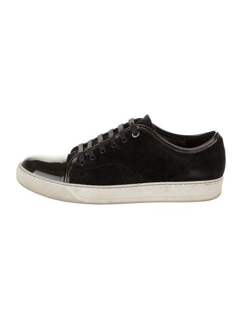 Lanvin Suede Sneakers Black