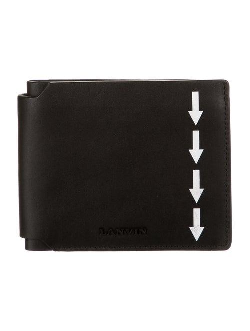 Lanvin Leather Bifold Wallet black