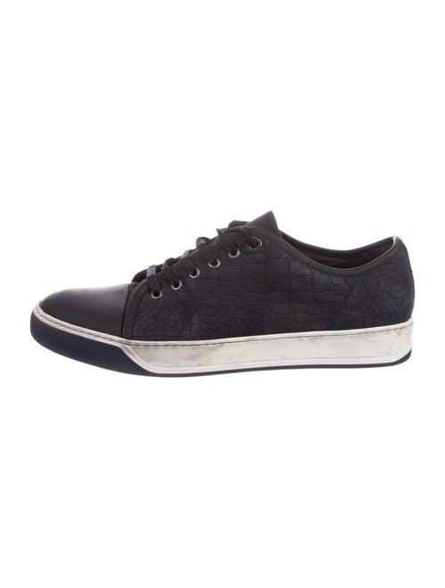 Lanvin Nubuck Sneakers Blue