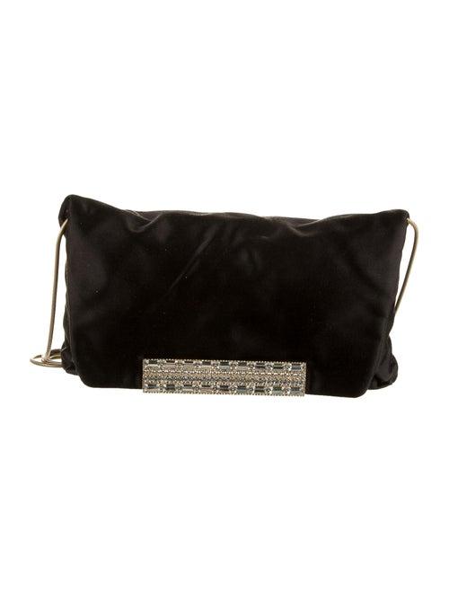 Lanvin Satin Evening Bag Black