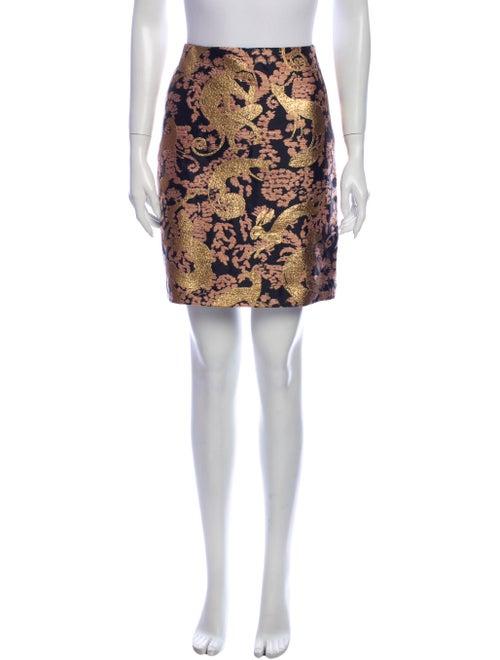 Lanvin Printed Knee-Length Skirt