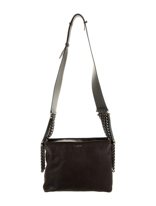 Lanvin Leather Shoulder Bag Brown
