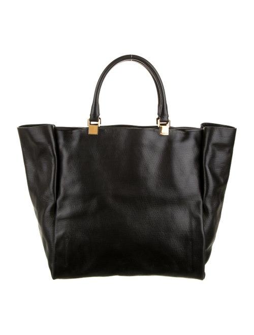 Lanvin Leather Tote Black