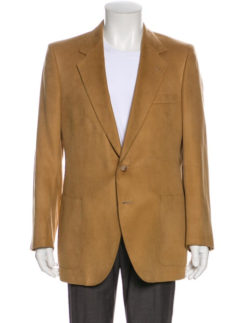 Lanvin Feather Suede Suede Jacket