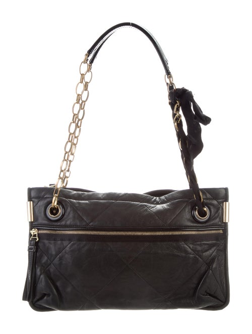 Lanvin Quilted Amalia Bag Black