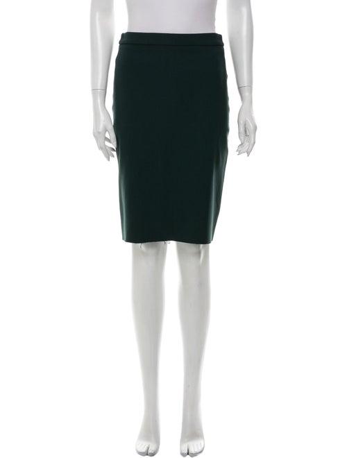 Lanvin Knee-Length Skirt Green
