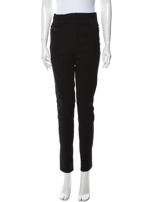 Lanvin High-Rise Skinny Leg Jeans Black