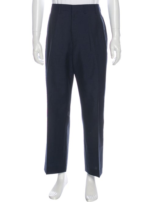 Lanvin Wool Dress Pants Wool