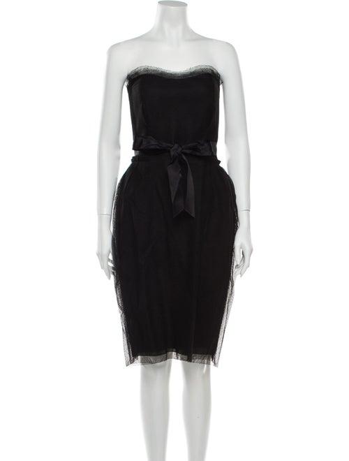 Lanvin Wool Mini Dress Wool