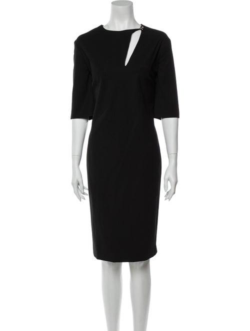 Lanvin Wool Midi Length Dress Wool