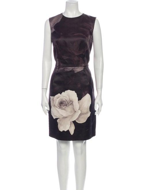 Lanvin 2011 Knee-Length Dress Black