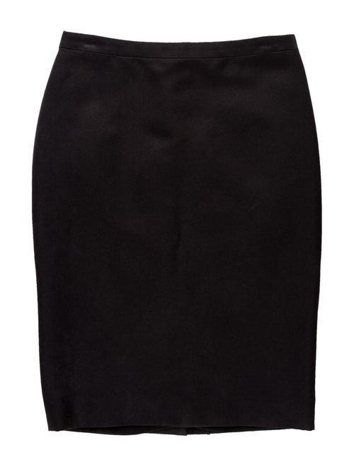 Lanvin Knee-Length Skirt Black