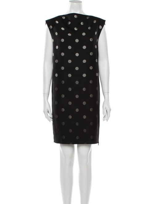 Lanvin 2011 Mini Dress Black